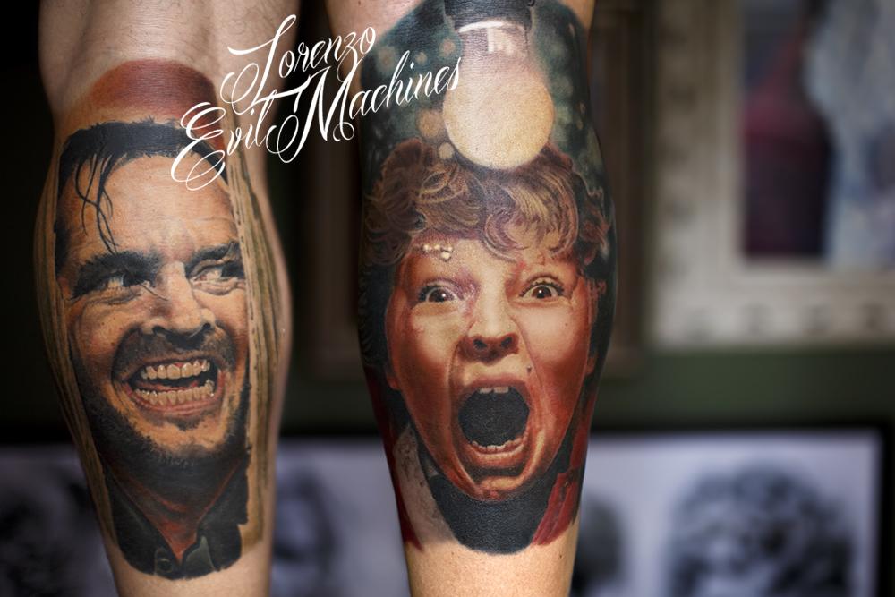 Chunk_Jack_Goonies_Shining_Lorenzo_Evil_machines_realistic_tattoo_tatuaggi_realistici_Roma_tatuatore_ritratti_3d_best_migliore
