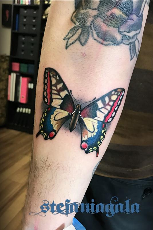 Farfalla_Butterfly_disegni_personalizzati_new_traditional_Stefania_Gala_Evil_Machines_Tattoo_Roma_best_migliore