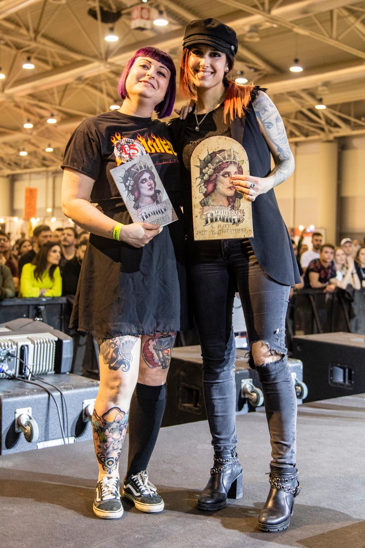 premiazione_stefania_gala_convention_roma_2019_tatuatrice_evil_machines