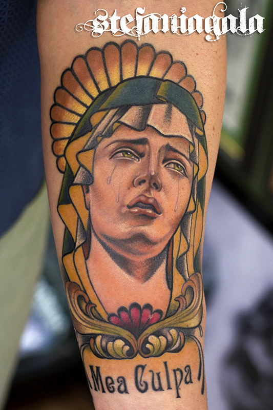 Madonna_Vergin_Mary_Holy_Sacro_disegni_personalizzati_neo_new_traditional_tatuaggi_Stefania_Gala_Evil_Machines_Tattoo_Roma_best_migliore