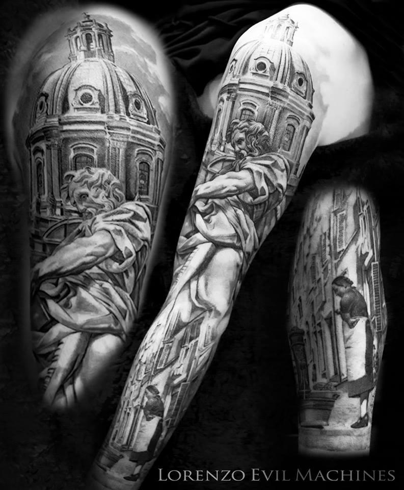 tatuaggio rione monti