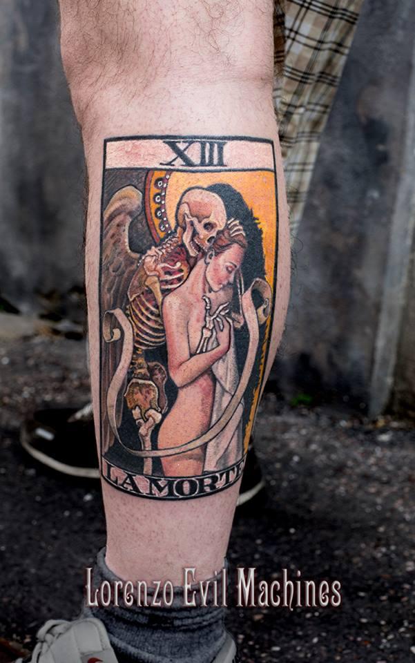 tatuaggio tarocco